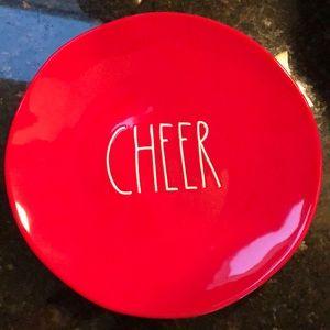 Rae Dunn cheer plate!